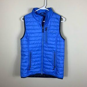 Vineyard vines blue puffer vest